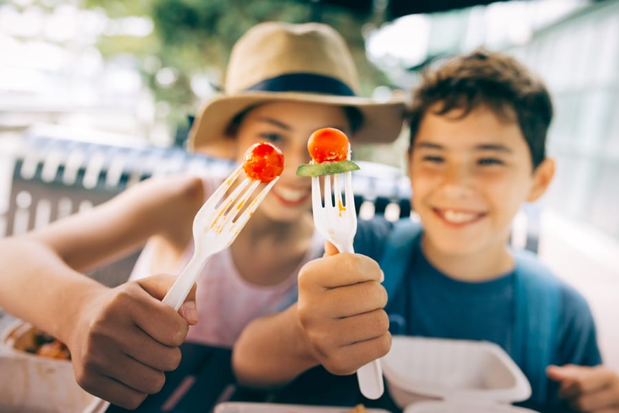 Kids Summer Camp Meals