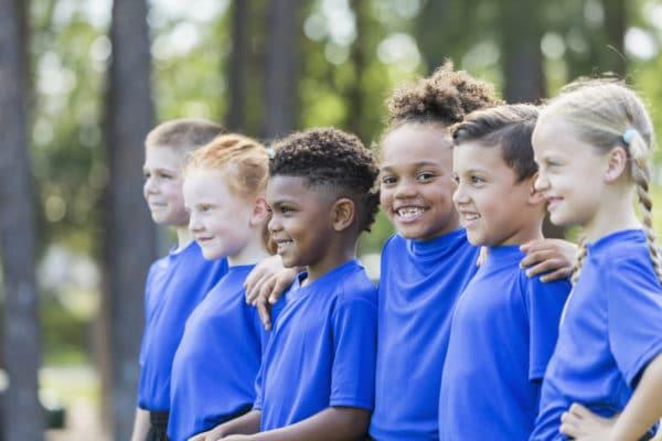 Children Bonding At Kids Summer Camp