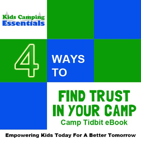 KCE Camp Tidbit - 4 Ways to Find Trust In Your Camp eBook