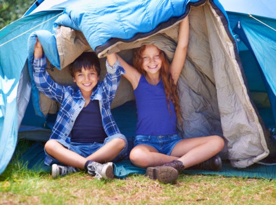 Kids Camping is WAY too much fun!