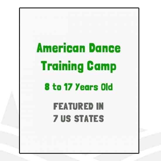 American Dance Training Camp - CA, CO, MD, NC, TX, VT, WI