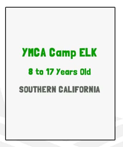YMCA Camp Elk - CA