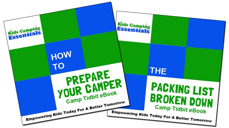 KCE Camp Tidbits eBooks - How to Train Your Camper & The Packing List Broken Down