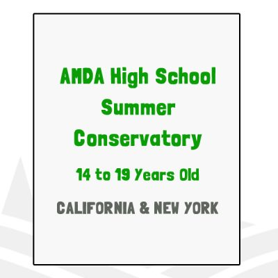 AMDA High School Summer Conservatory - CA, NY