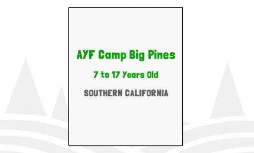 AYF Camp Big Pines - CA