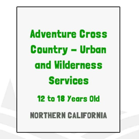 Adventure Cross Country Urban and Wilderness Services - CA
