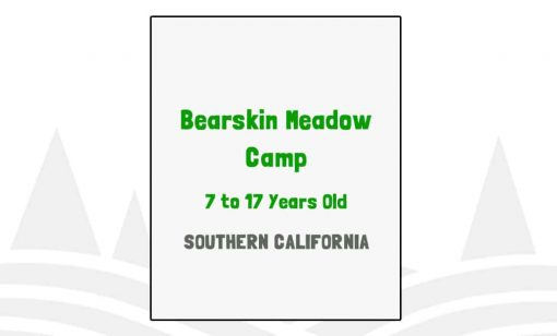 Bearskin Meadow Camp - CA