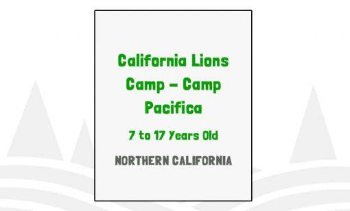 California Lions Camp Pacifica - CA