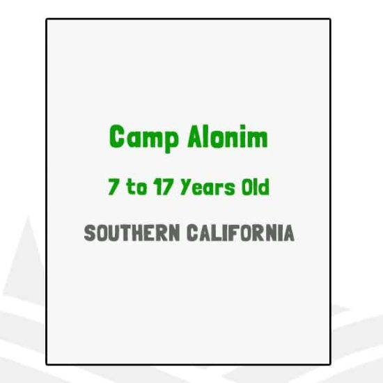 Camp Alonim - CA