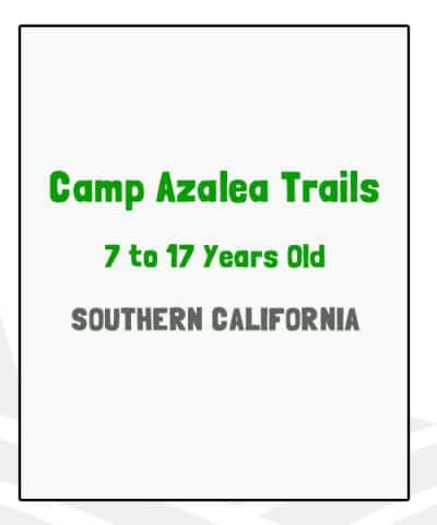 Camp Azalea Trails - CA