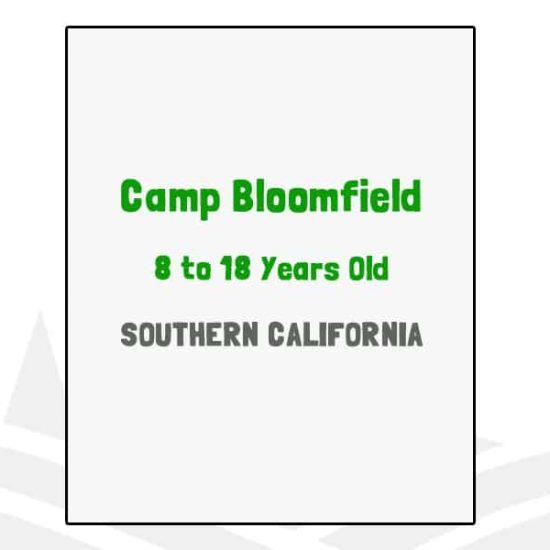 Camp Bloomfield - CA