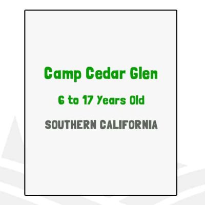 Camp Cedar Glen - CA