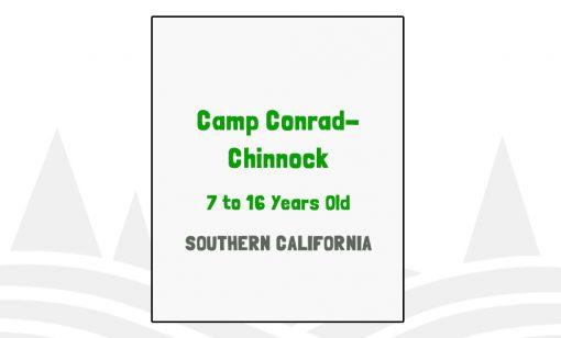 Camp Conrad Chinnock - CA