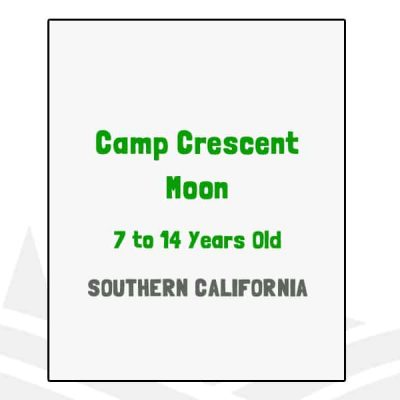 Camp Crescent Moon - CA