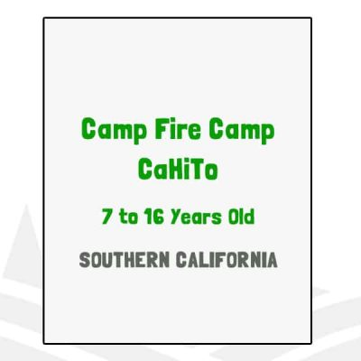 Camp Fire Camp CaHiTo - CA