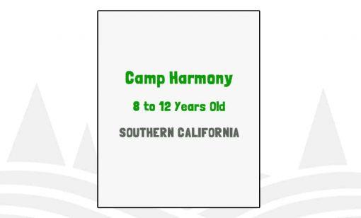 Camp Harmony - CA