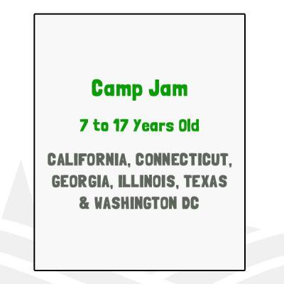 Camp Jam - CA, CT, GA, IL, TX, DC