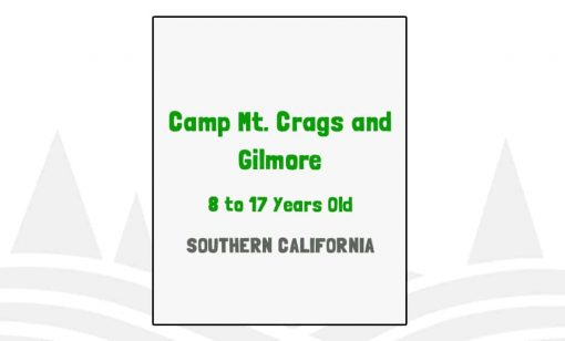 Camp Mt Crags and Gilmore - CA