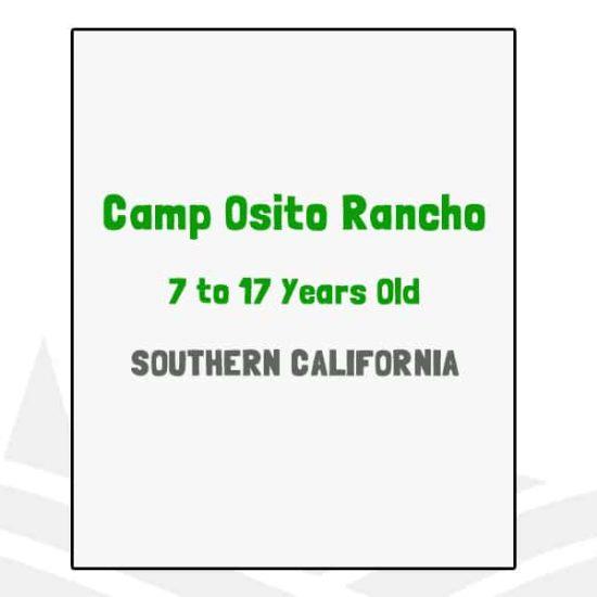 Camp Osito Rancho - CA