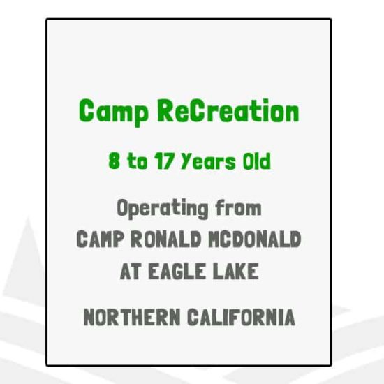 Camp ReCreation - CA