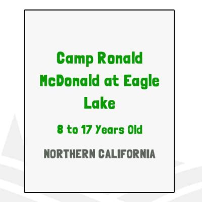 Camp Ronald McDonald at Eagle Lake - CA