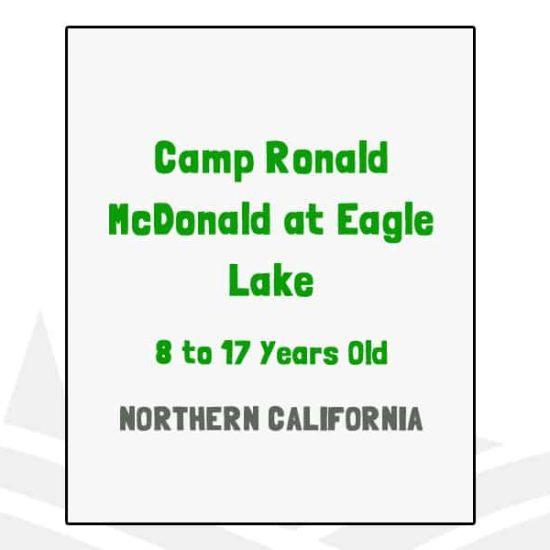 Camp Ronald McDonald at Eagle Lake - CA