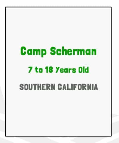 Camp Scherman - CA