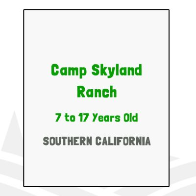 Camp Skyland Ranch - CA