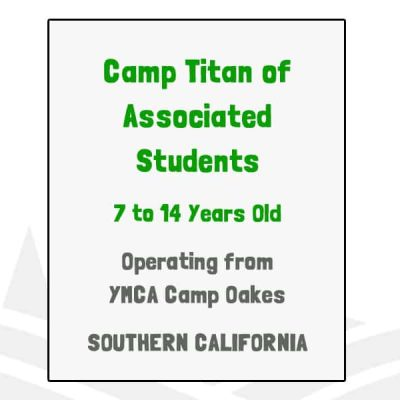 Camp Titan of Associated Students - CA