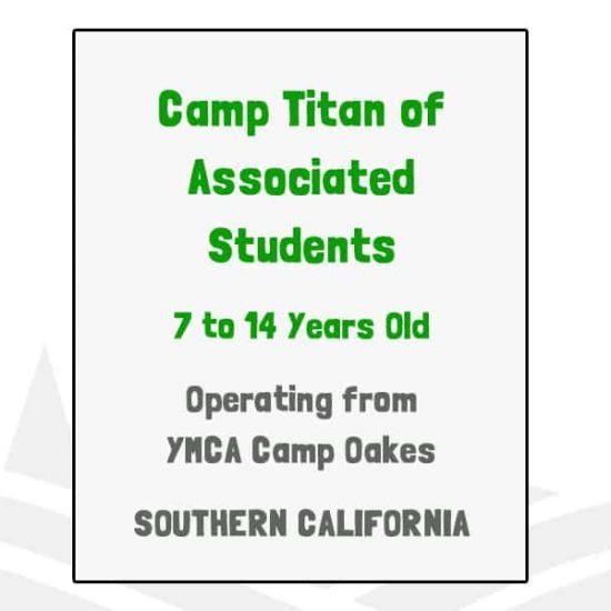Camp Titan of Associated Students - CA