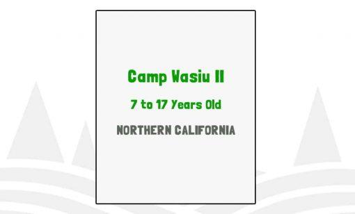 Camp Wasiu II - CA
