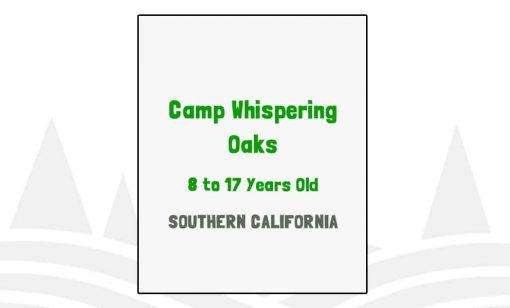 Camp Whispering Oaks - CA