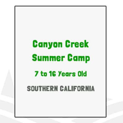 Canyon Creek Summer Camp - CA