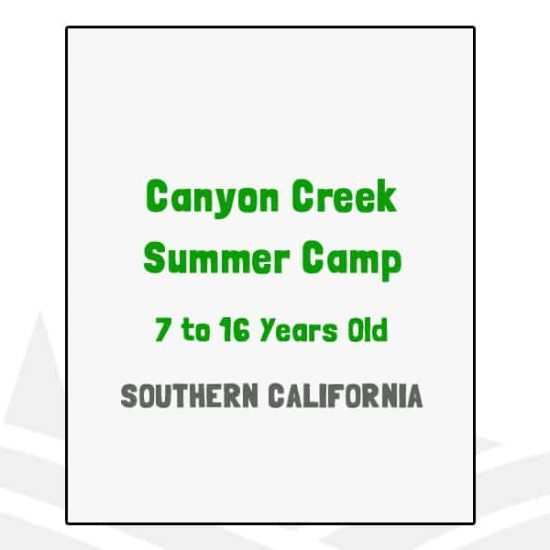 Canyon Creek Summer Camp - CA