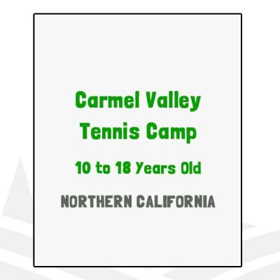 Carmel Valley Tennis Camp - CA