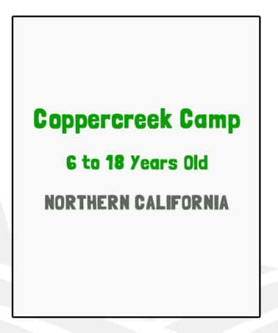 Coppercreek Camp - CA