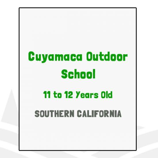 Cuyamaca Outdoor School - CA