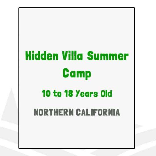 Hidden Villa Summer Camp - CA