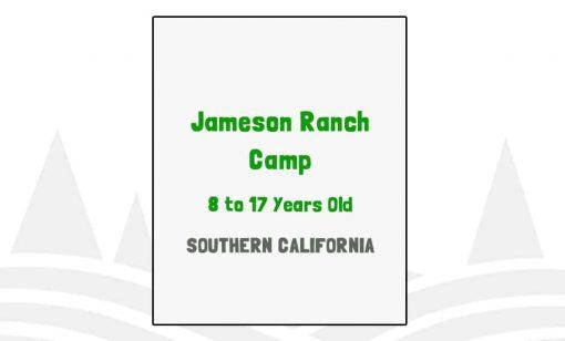 Jameson Ranch Camp - CA