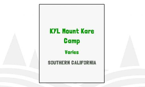 KYL Mount Kare Camp - CA