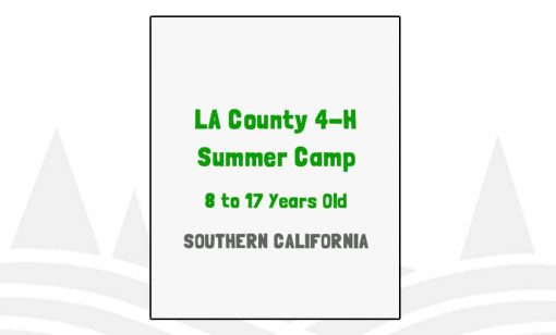 LA County 4-H Summer Camp - CA