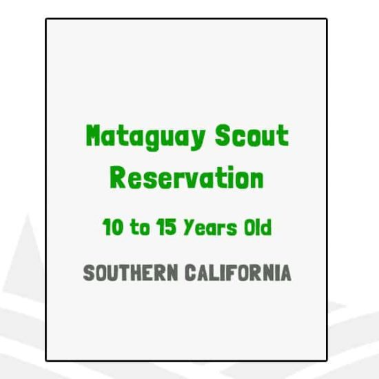 Mataguay Scout Reservation - CA