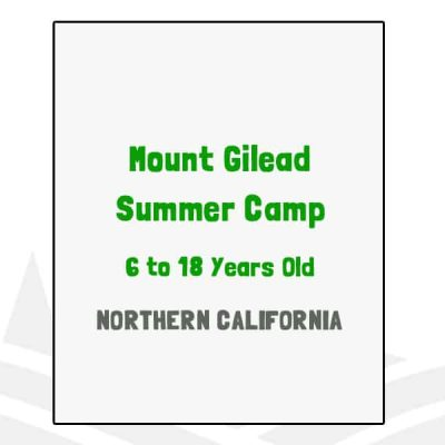 Mount Gilead Summer Camp - CA