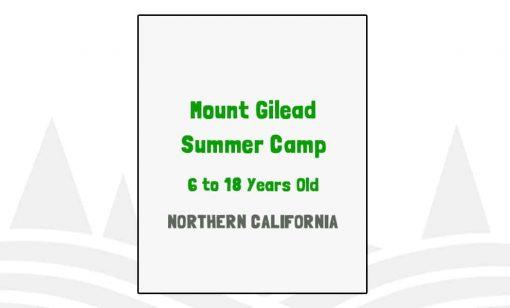 Mount Gilead Summer Camp - CA