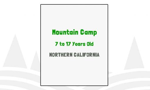 Mountain Camp - CA