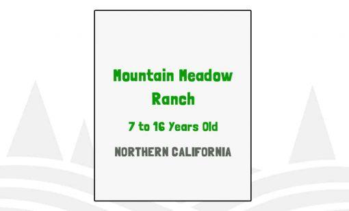 Mountain Meadow Ranch - CA