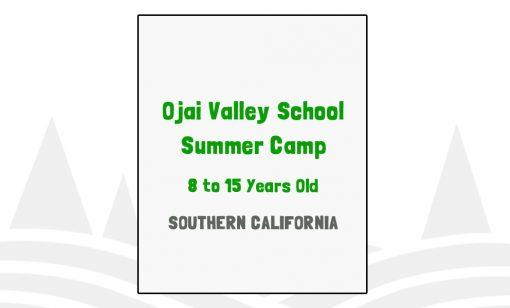 Ojai Valley School Summer Camp - CA