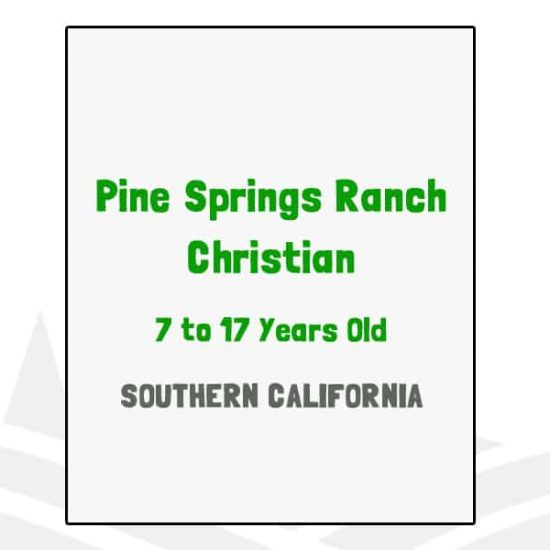 Pine Springs Ranch Christian - CA