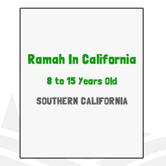 Ramah In California - CA
