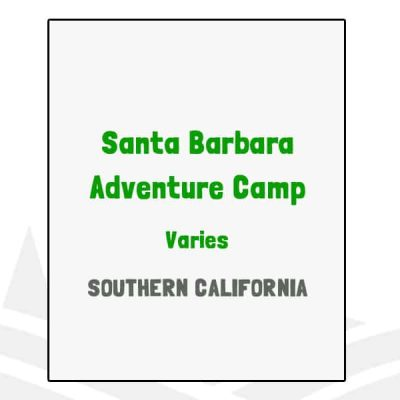 Santa Barbara Adventure Camp - CA